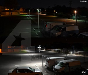 Parking Lot Area Lighting