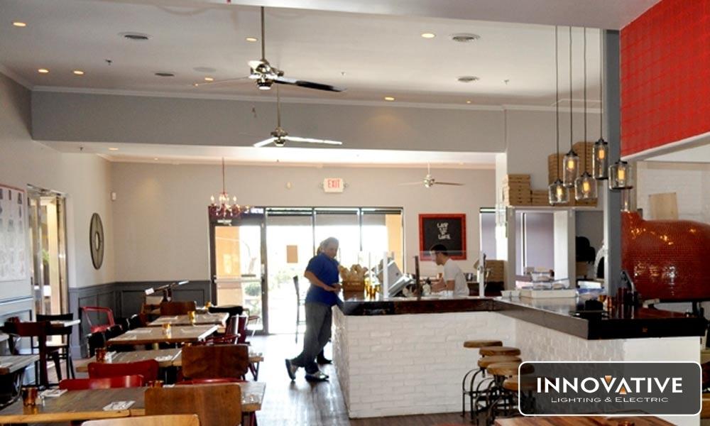 Commercial lighting lighting az can lighting restaurant scottsdale az aloadofball Gallery