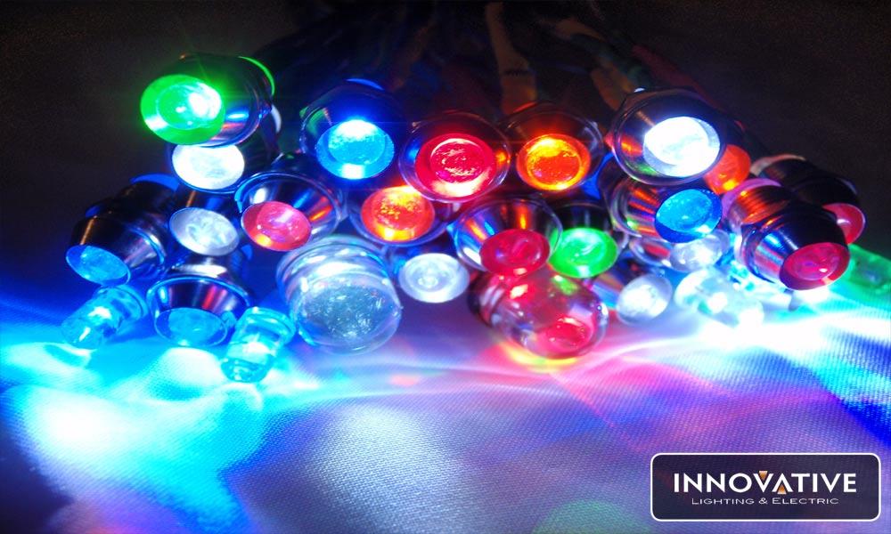 Efficiencies of LEDs