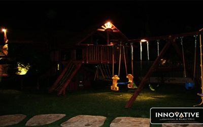 Swing Set Down Lighting