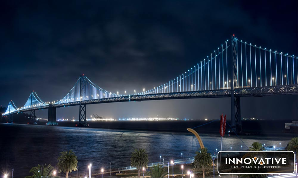 Benefits of Using LED in Landscape Lighting (Why the Bay Bridge is Covered in LED)
