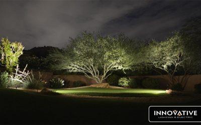 Cross Outdoor Garden Lighting in Scottsdale, AZ