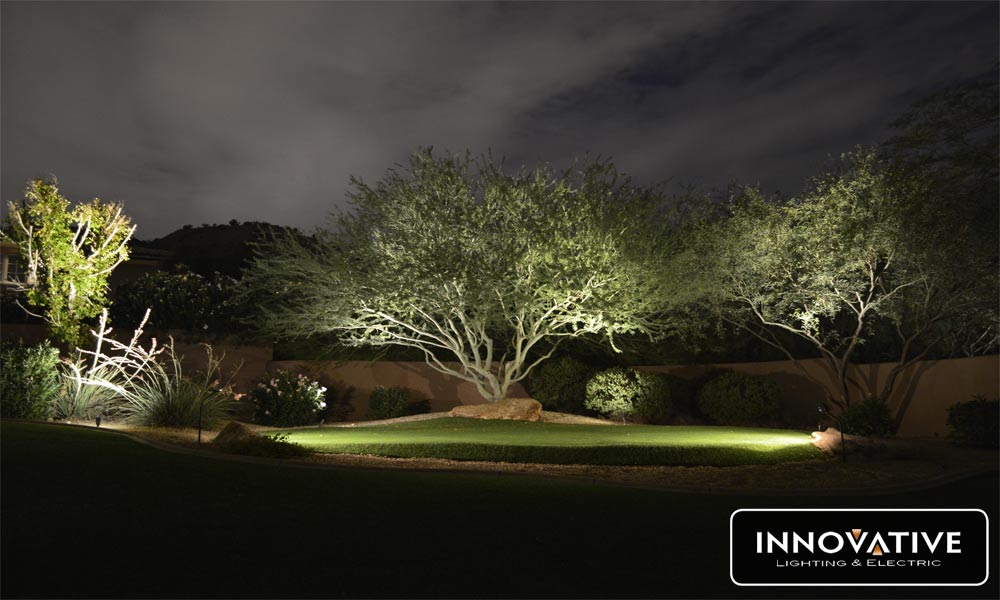 Cross Outdoor Garden Lighting in Scottsdale, AZ