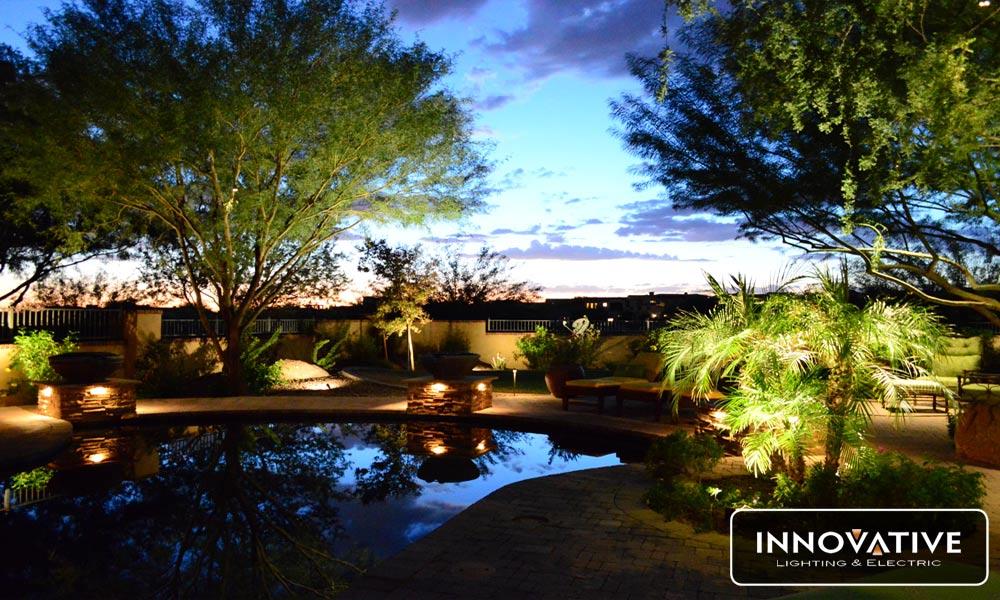 Keys to Landscape Lighting – Consider Backyard Theme